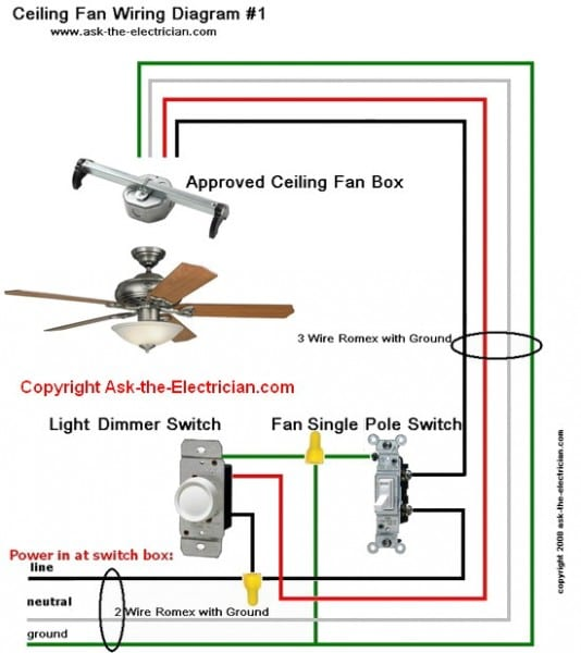 Three Wire Fan Diagram
