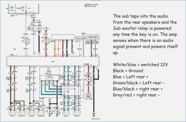 Clarion Car Stereo Wiring Diagram Vehicledata Of Clarion Stereo