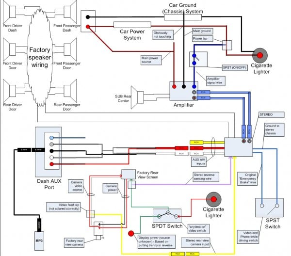 Clarion Vx 410 Wiring Harness Diagram