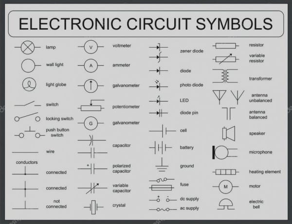 Collection Control Wiring Diagram Symbols Printable Diagrams Also