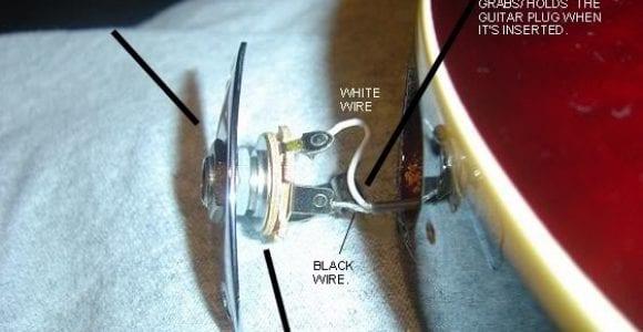 Wiring Electric Guitar Input Jack