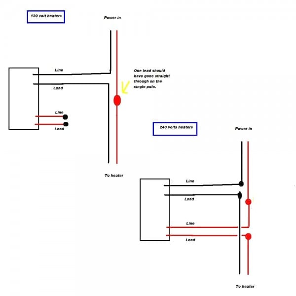 Double Pole Thermostat Wiring Diagram On Stats Jpg Bright Switch