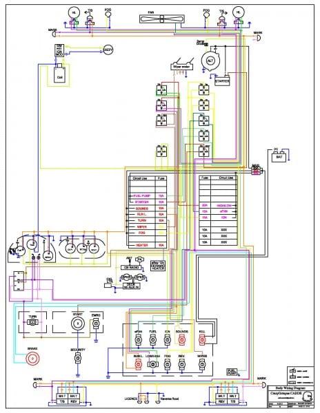 Race Car Wiring Diagrams