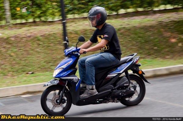 Tested  2016 Honda Beat