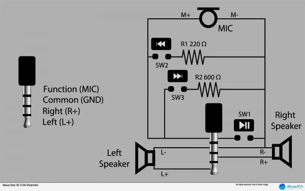 Stereo Headphone Jack Pinout With Wiring Diagram Also 3 5 Mm  U2013 Car Wiring Diagram
