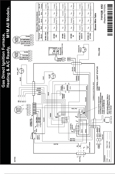 Eb15b Wiring Diagram And Gas Furnace To Older For Nordyne Furnace