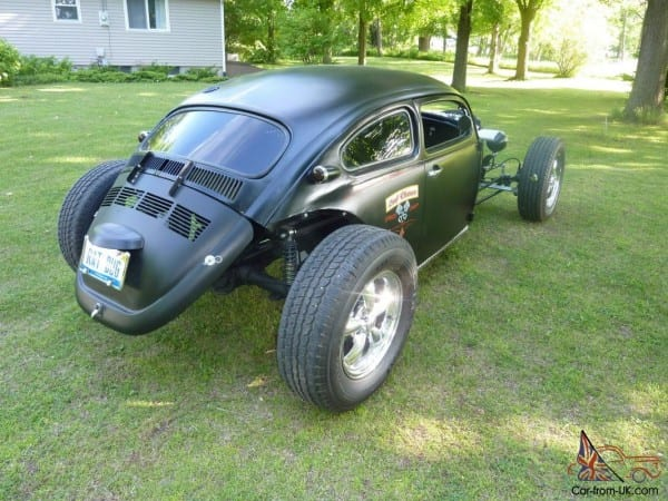 Ratrod Chopped Top Volkswagen Bug