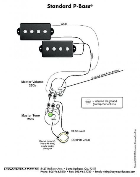 Jazz Bass Series Parallel Wiring Diagram