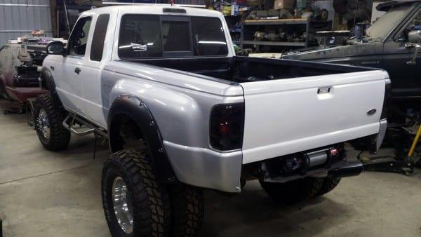 Ford Ranger 4×4 With A Cummins 4bt – Engine Swap Depot