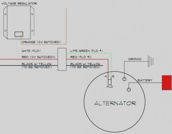 Ford One Wire Alternator Wiring Diagram Best Of
