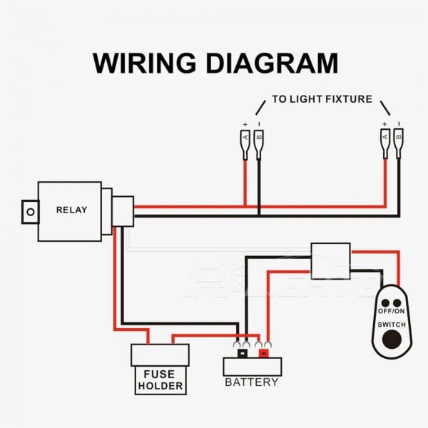 Led Light Wiring Schematic