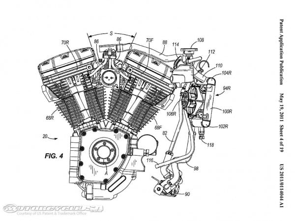 Harley Davidson 2 Cylinder Engine Diagram