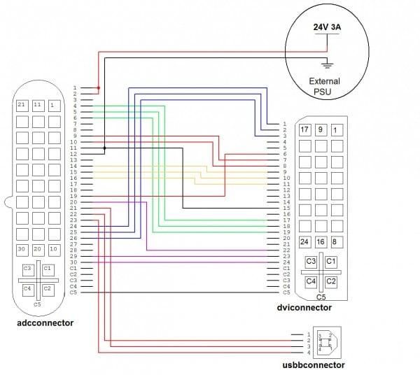 Hdmi To Vga Wiring Diagram Hdmi To Vga Wiring Diagram For Vga To
