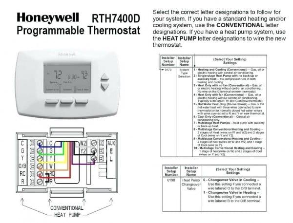 Janitrol Thermostat Wiring
