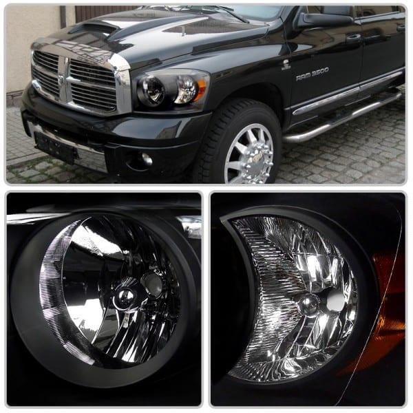 06 08 Dodge Ram Headlights