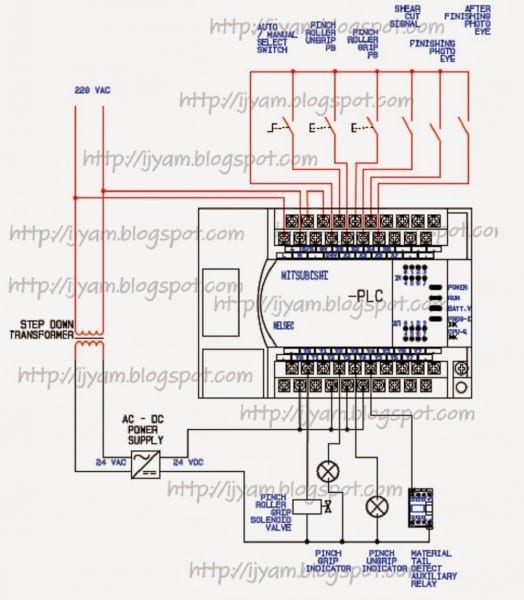 Hmi Wiring Diagram Similiar Motor Control Keywords Best Of Plc
