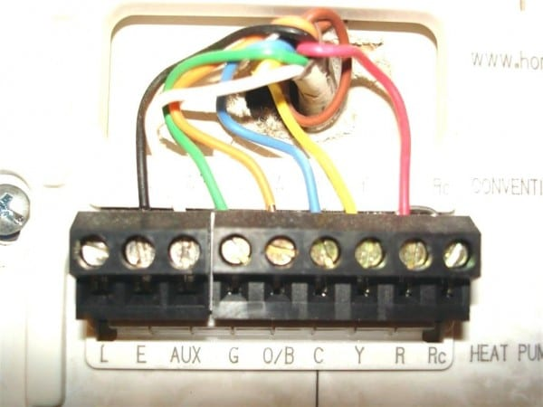 Honeywell Thermostat Rth6350d Ing Rth6350 Wiring Rth6350d1000