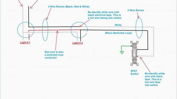 Light Wiring Diagram Uk