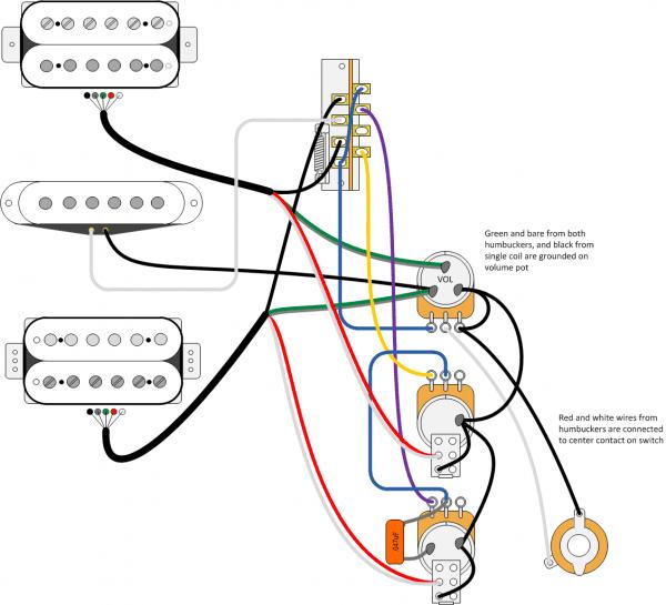 5 Way Switch Wiring Diagram Hsh