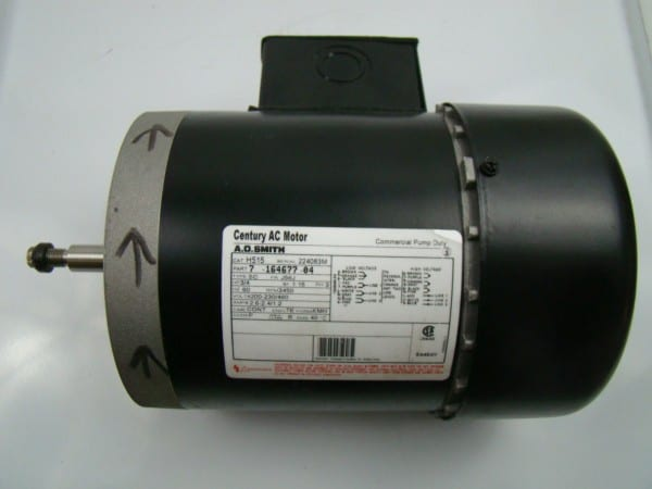 A O  Smith 3 4 Hp 3 Phase 3450 Rpm Ac Motor H515
