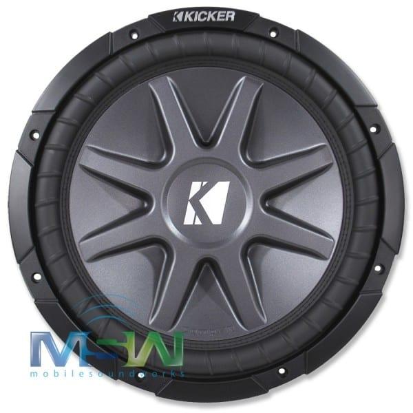 Kicker Cvr124 (10cvr124) 12  Dual 4 Ohm Compvr Series Car Subwoofer