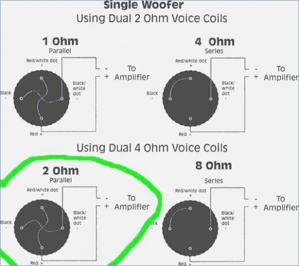 Kicker Cvr 12 Wiring Diagram L7 E280a2 Or 4 Ohm