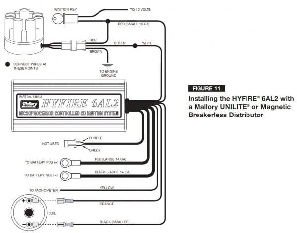 Mallory Unilite Distributor Wiring Diagram 0 For Mallory Unilite