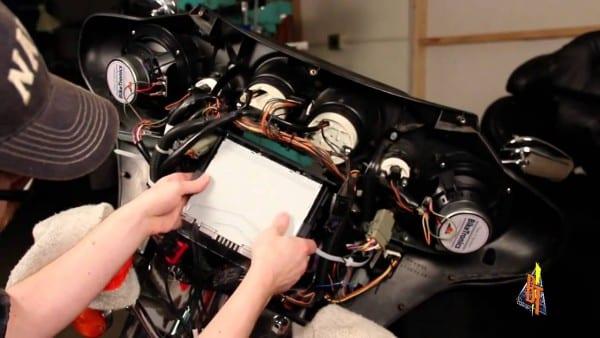 Harley Aftermarket Radio Install