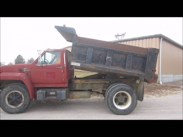 1987 Ford F700 Dump Truck For Sale