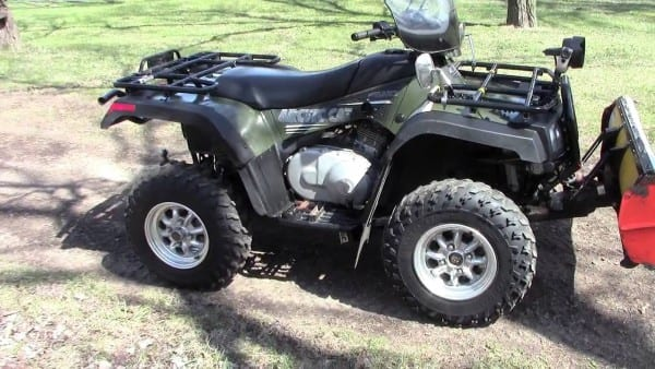 2005 Arctic Cat 400 4x4 Auto With Plow And Winch