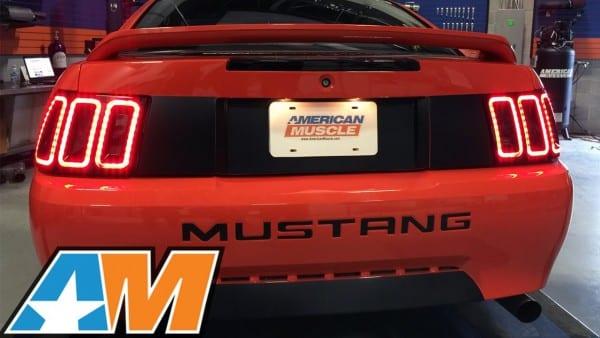 Mustang Raxiom Icon Led Tail Light (1999