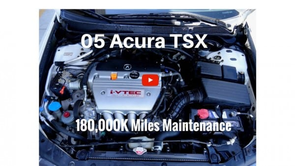 2005 Acura Tsx Manual Transmission 180,000 Miles Things To Fix
