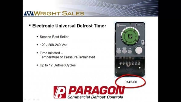 Paragon Defrost Timers 8145 And 9145 Overview