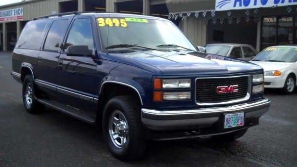 1995 Gmc Suburban 4x4 Sold!!