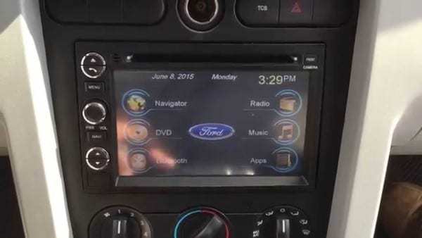 2006 Ford Mustang Factory Style Windows Based Radio With