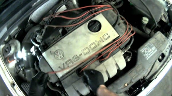 Vw A3 Vr6 Removing Spark Plug Wires & Spark Plugs