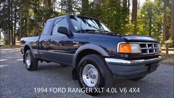 1994 Ford Ranger Xlt Ext Cab 4 0l V6 4x4 Automatic 140k Miles