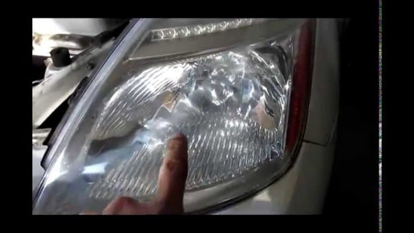 How To Replace Remove Bulbs Front Head Light For Toyota Prius 2007