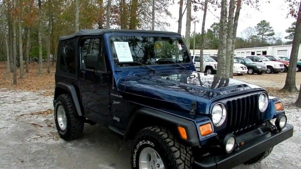 2002 Jeep Wrangler Review Tj Sport 4x4   New Tires   New Top   For
