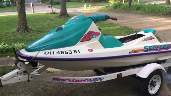 1995 Gts Sea Doo (read Description)