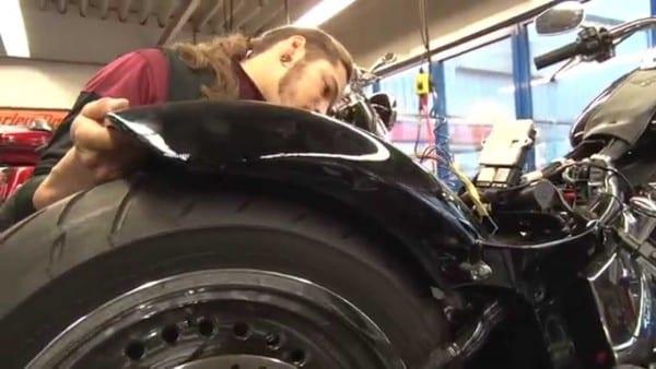 Thunderbike Steel Custom Fender Built On