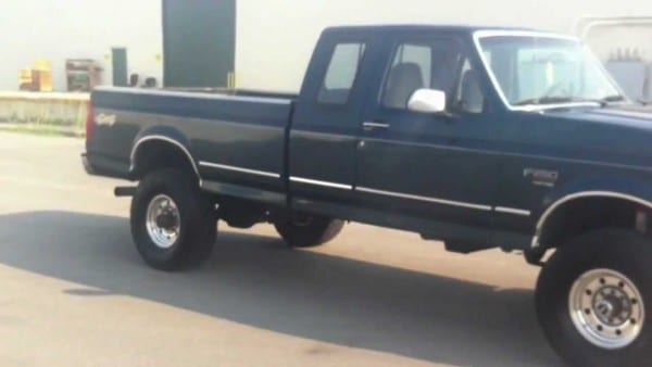 1996 Ford F250 Supercab 4x4 Lifted 197k