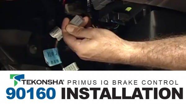 Installing The Tekonsha Primus Iq Brake Control 90160