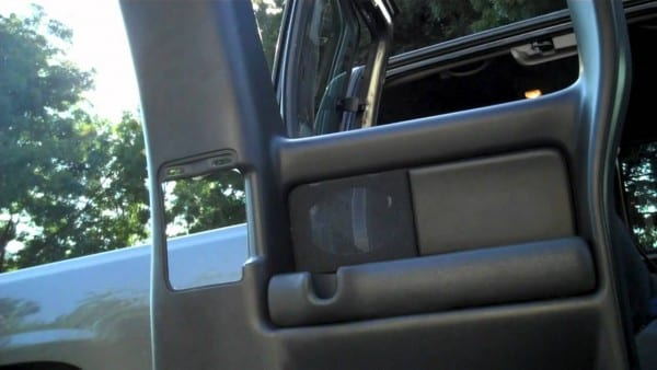 How To Take Off The Back Door Panel Of A 99