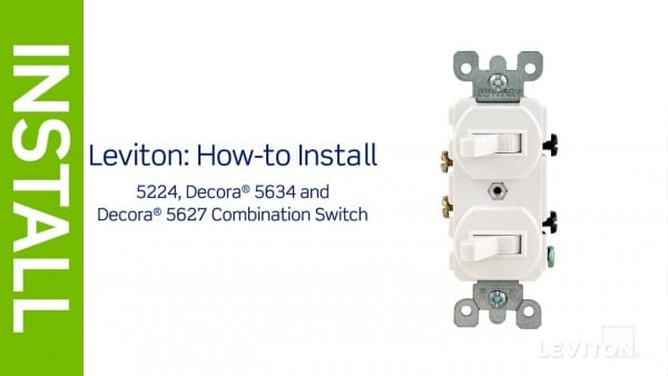 Leviton Presents  How To Install A Combination Device With Two