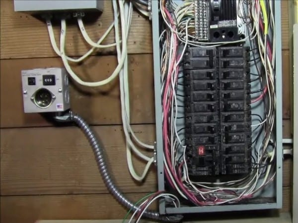 Ricksdiy How To Wire Generator Transfer Switch To A Circuit