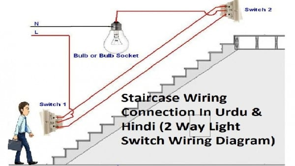 2 Way Light Switch Wiring
