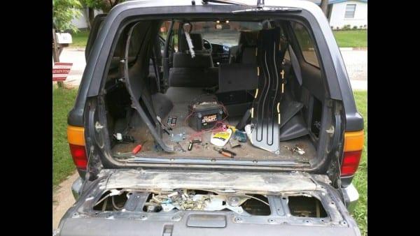 Rear Window Repair On 90