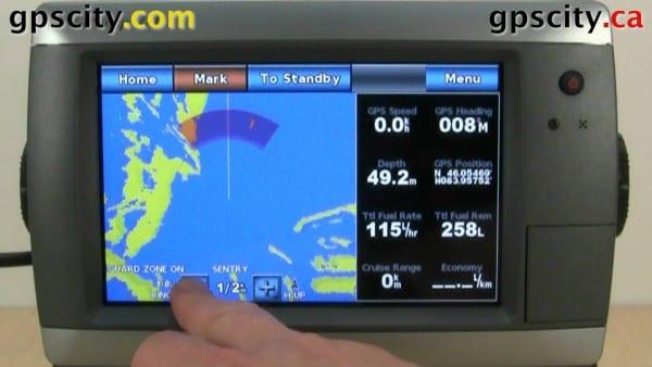 Garmin Radar Chartplotter Diagram