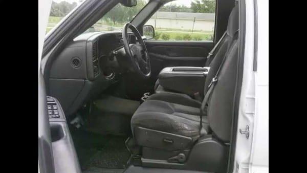 2005 Chevrolet Silverado Ls Crew Cab , Only 79xxx Miles , Cloth